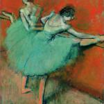 <b>Danseuses à la barre, 1900</b> <br />